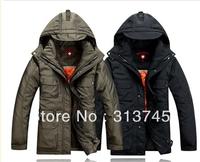 free shipping 2013 dsq brand down jacket men,men's fur collar winter jacket  d2 hotsale fashion down coat ,parka