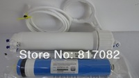 """On sale 3""""x13 """" Insert type RO membrane housing +100 gpd RO membrane +all accessories for Water Filter"""