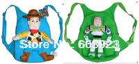 2013 new hot selling wholesale children's Woody Buzz design bag children backpack Toy Story school bag for girls and boys
