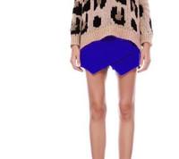 New Autumn&Winter Classic Style Europe&Americ Women Fashion Irregular Woolen Pantskirts,Ladies Mid Waist  Hot  Shorts k35