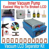 2014 Inner Vacuum Manual LCD Separator Machine /Seperator to Repair /Refurbish Glass Touch Screen Digitizer for iPhone,Samsung..