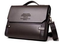New 2014 fashion man bag genuine leather bag men messenger bags shoulder bag leather bags commercial bagcasual bag