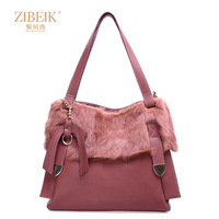 shopping Women's bag 2013 women's handbag rabbit fur bag fur bag women messenger bag for colorful