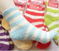 Winter thickness socks for terry socks/floor warm Christmas 5pcs free shipping