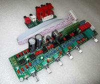 HIFI 5.1 Reference A1 pre amp mixer pre amplifier  circuit board 5.1 pre amplifier tone board Free Shipping