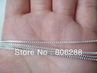 Wholesale Bulk / Lot 10 pcs Brilliant Silver Plated  Necklace Chain 60cm - Best Quality