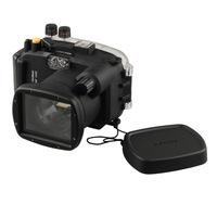 40M waterproof underwater camera housing case for Sony DSLR NEX-7 + 18-55mm lens