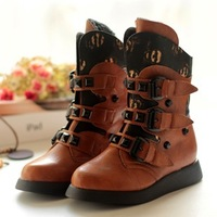 2013 winter new Korean fashion children's shoes boots Martin boots boots boots tide cotton boys and girls shoes