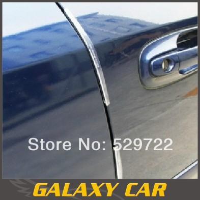 Free shipping & Wholesale Car Sticker/Carbon fiber door anti-collision bar/door anti-collision strip/rub strip/8pcs one set(China (Mainland))