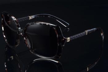 Fashion Summer Sun Glasses Coating Sunglass Polarized Gafas Polaroid Sunglasses Women Brand Designer Oculos Feminino 9110