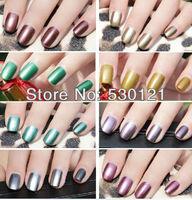 Free Shipping TNT or DHL 20pcs 20 Colors Hot Sales High Quality Metallic Nail Polish