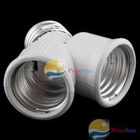 [Super Deals] E27 to 2 E27 Light Lamp Bulb Adapter Converter Splitter wholesale