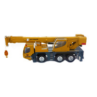 Free shipping Heavy duty crane huayi Giant crane engineering truck car model alloy car models double cab Gift children's toys