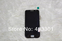 For Samsung i9000 lcd assembly digitizer display, black free shipping as a gift