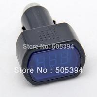 Digital LCD Cigarette Lighter Voltage Panel Meter Monitor Car Volt Voltmeter Wholesale