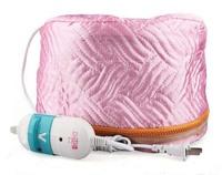 Hair Thermal Treatment Beauty Steamer SPA Cap Hair Care Nourishing 220V Pink hair steamer Cap  Free Drop shipping