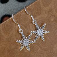 E302 Wholesale 925 silver earrings, 925 silver fashion jewelry, fashion earrings