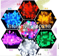 220V Super bright 10pcs/lot, 10M, 100 bulbs/pc,Waterproof Colorful LED String Light, Christmas Tree Decorative Lighting