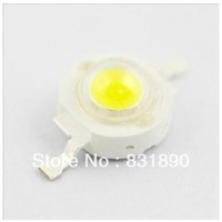 Freeshipping 100PC/Lots1w high power lamp beads bright LED 100-110LM USA Bridgelux chip 45x45MIL quality hight bright