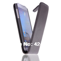 New arrivel pu leather Skin Hard Back Case Cover For Samsung Galaxy IV S4 I9500 Free shipping