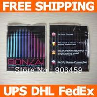 Free shipping,3.3''x4''(8.5x10cm) Bonzai herbal smoke ziplock pouch