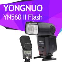 Yongnuo YN560II Flash Speedlite LCD Screen For Canon Nikon Pentax Panasonic Fuji