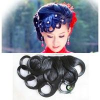 Costume wig bride style wig bangs costume style cheongsam fringe