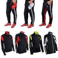 Football training suit long-sleeve outerwear breathable ride service child spring and autumn soccer jersey set pants legs