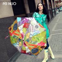 Free Shipping Street Fashion Umbrellas Folding Umbrella Female Umbrella Folding