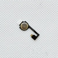100pcs For Iphone 4 4G Home Button Flex Cable Ribbon Repair Parts New original