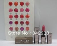 5PCS/LOT High Quality Professional Brand Makeup Lipstick free shipping