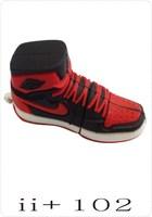 Free Shipping original design plastic novelty sneaker Sport Shoes usb flash drive 1-32GB pendrive memory stick Black+White