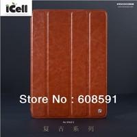 Original HOCO Brand Retro Series PU Leather Case For Ipad 5 ipad air ,MOQ:1pcs free shipping