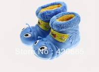 2013 winter children'shoes fashion 2 - 6 baby boys and girls caterpillars Snow Boots Velcro cotton boots Free shipping