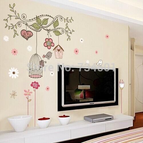Hout vogelhuisje promotie winkel voor promoties hout vogelhuisje op - Decoratie kooi ...