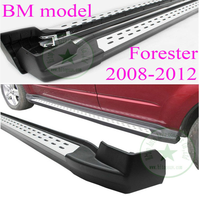 Subaru Forester side bar side step running board for 2008 2009 2010