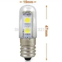 1PC LED light chandelier 220v 110v  E14 1W LED Small Mini Bulb Lights Indicator Lamp For Fridge Refrigerator Freezer Chandelier