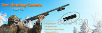 Tiny HD 720P All Metal Hunting Camera for Rifle, Water resistant Sport Camera, with Special Gun Mount for Gun Installation