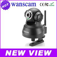 2014 Hot sale Wanscam  JW0008 Plug&Play WiFi Wireless IR Night Vision PanTilt CCTV Security Webcam Network IP Camera