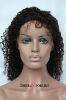 CURLY LACE WIGS WITH BABY HAIR 16INCH 2#