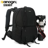 Fashion Professional Casual SLR Camera bag Shoulders Package Digital Backpack Video Camera Bag 1 PC Black A2163