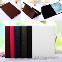 1pcs Luxury Slim Leather Case For iPad Air With Stand Retro Oracle Lines Flip SKin Cover For iPad 5