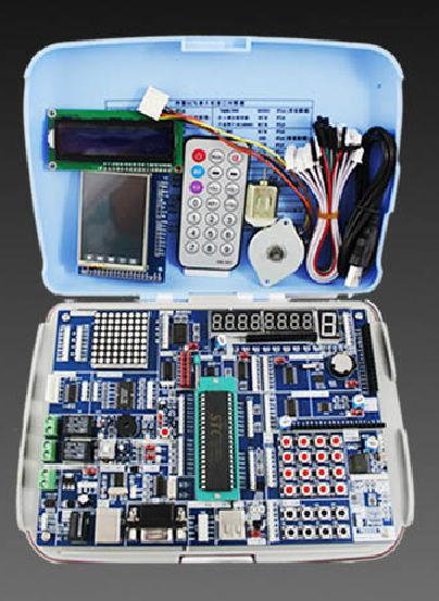 AVR + ARM +51 HC6800 experimental board microcontroller development board learning board kit STM32(China (Mainland))