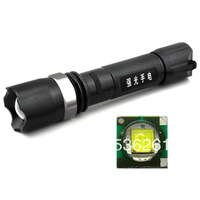 Strong     strong  q5 charge  18650    led mini flashlight 100 lot