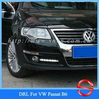 Unimaginable Price Daytime Running Light For VW Passat B6 2007 - 2009 , Volkswagen Passat 3C LED DRL ,Free Shipping!!