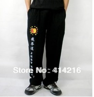 High elastic pure cotton training trousers suit Bruce lee jeet kune do sport pants rare