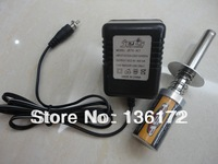 RC Nitro car tool Nitro Gas engine glow starter  with rechargeable battery and charger  free shipping