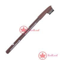 [Hot] Waterproof Brown Eyebrow Eyeliner Pencil with brush Make Up Tool wholesale