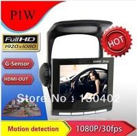 2013 new Full HD 1080P Car Dashboard Camera Vehicle DVR Cam Black box Driving Recorder H.264