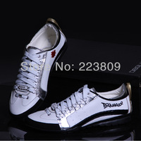 2013/14 New Spring/Autumn Men's Sneakers DSQ Casaul Shoes Luxury D2 For Men Free Shipping 206D1150R